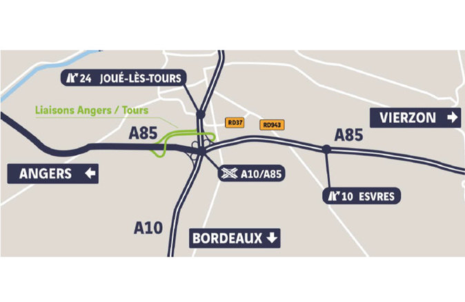 A85 Angers